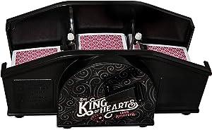 Manual Card Shuffler KOH Playing Card Shuffler Including Professional Casino Style Playing Cards