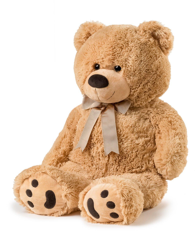 Amazon big teddy bear 30 tan toys games publicscrutiny Choice Image