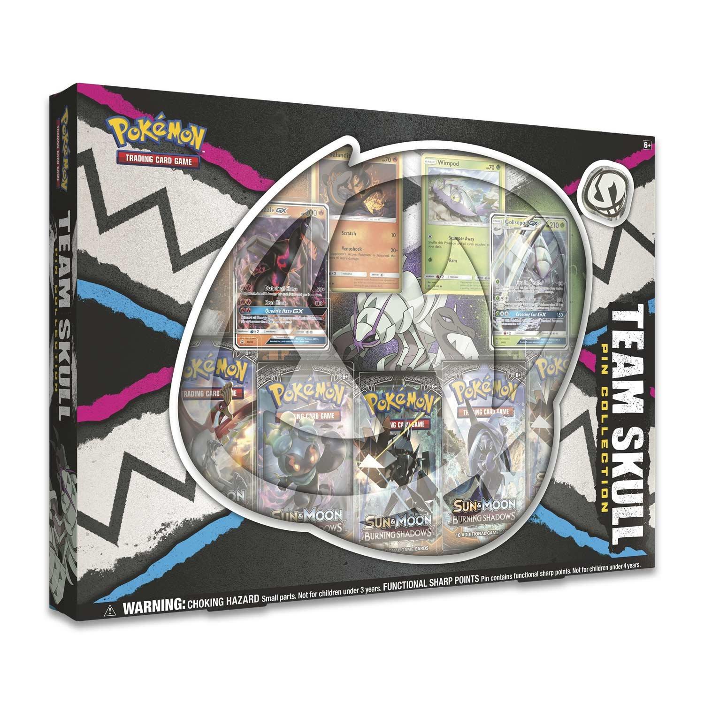 Pokemon Team Skull Gx Pin Box POKEMON TCG 820650803215