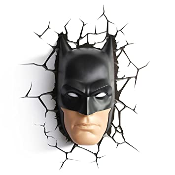 3dlightfx dc batman mask 3d wall light amazon toys games 3dlightfx dc batman mask 3d wall light aloadofball Choice Image