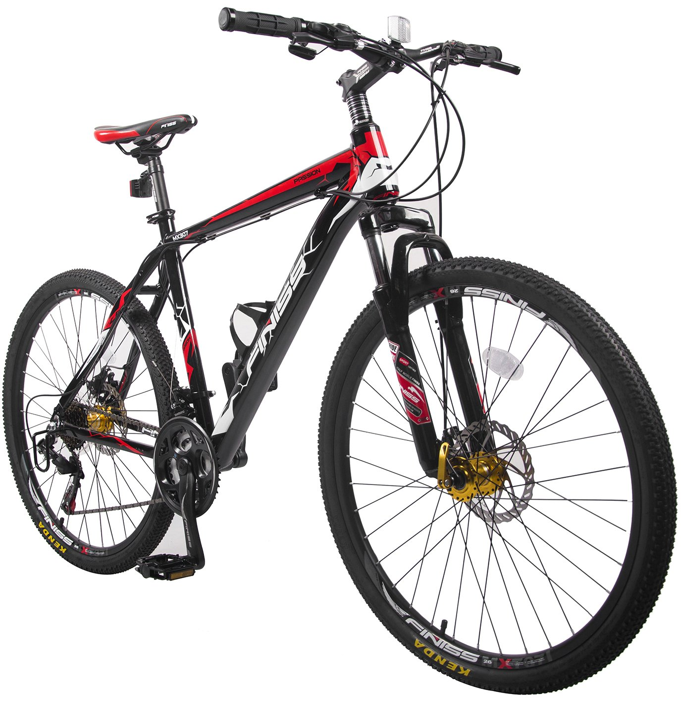 "Merax Finiss 26"" Aluminum 21-speed Mountain Bike with Disc Brakes"