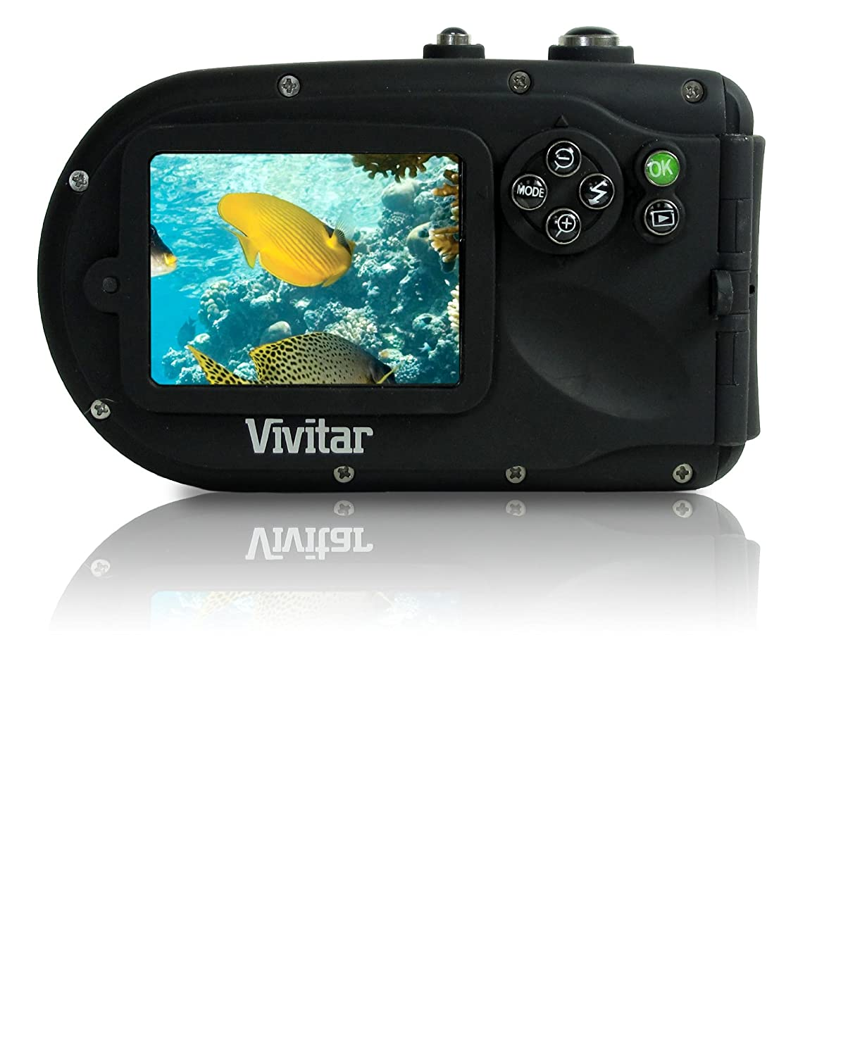 amazon com vivitar 8400yl vivicam 8 mp compact system camera with
