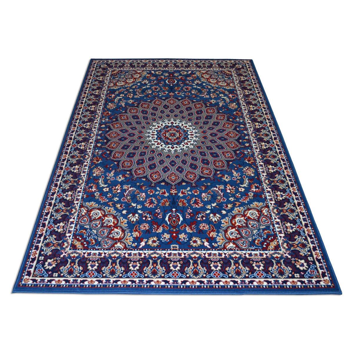 WEBTAPPETI.IT Teppich Economy Stil Perserteppich Klassisch Blau Royal Shiraz 2082-LIGHT Blau cm. 160x230 blau