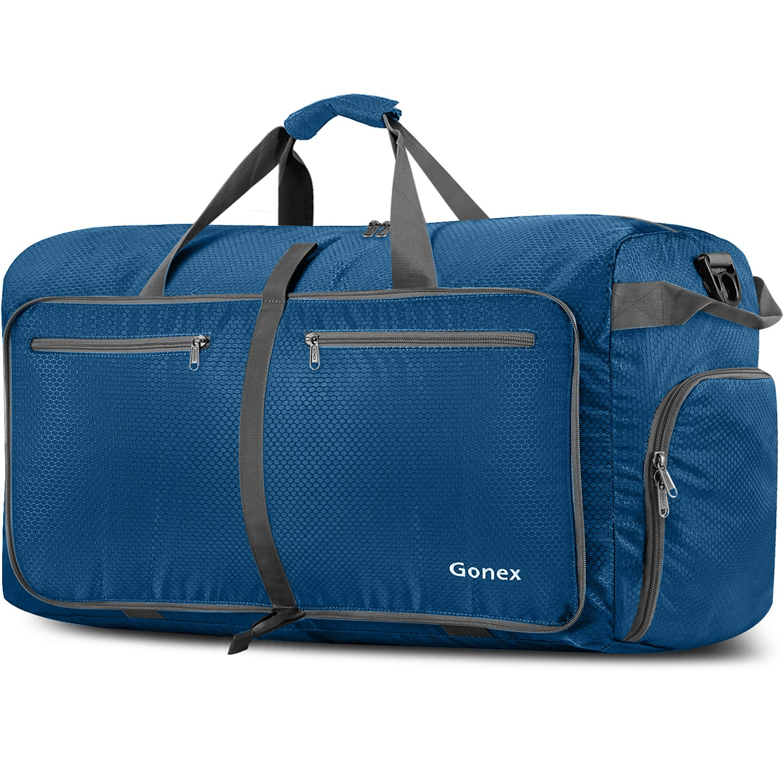 Gonex 150L Extra Large Duffle Bag, Packable Travel Luggage Shopping XL Duffel Packable Travel Luggage Shopping XL Duffel Black