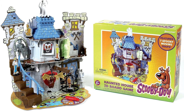 Pressman - La casa encantada de Scooby Doo (Juego de Mesa en 3D): Amazon.es: Juguetes y juegos