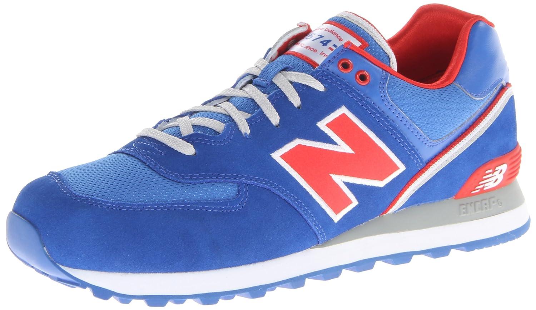 9f292b0d466c8 New Balance Men's Ml574sjr Sneakers blue Size: 8.5: Amazon.co.uk ...