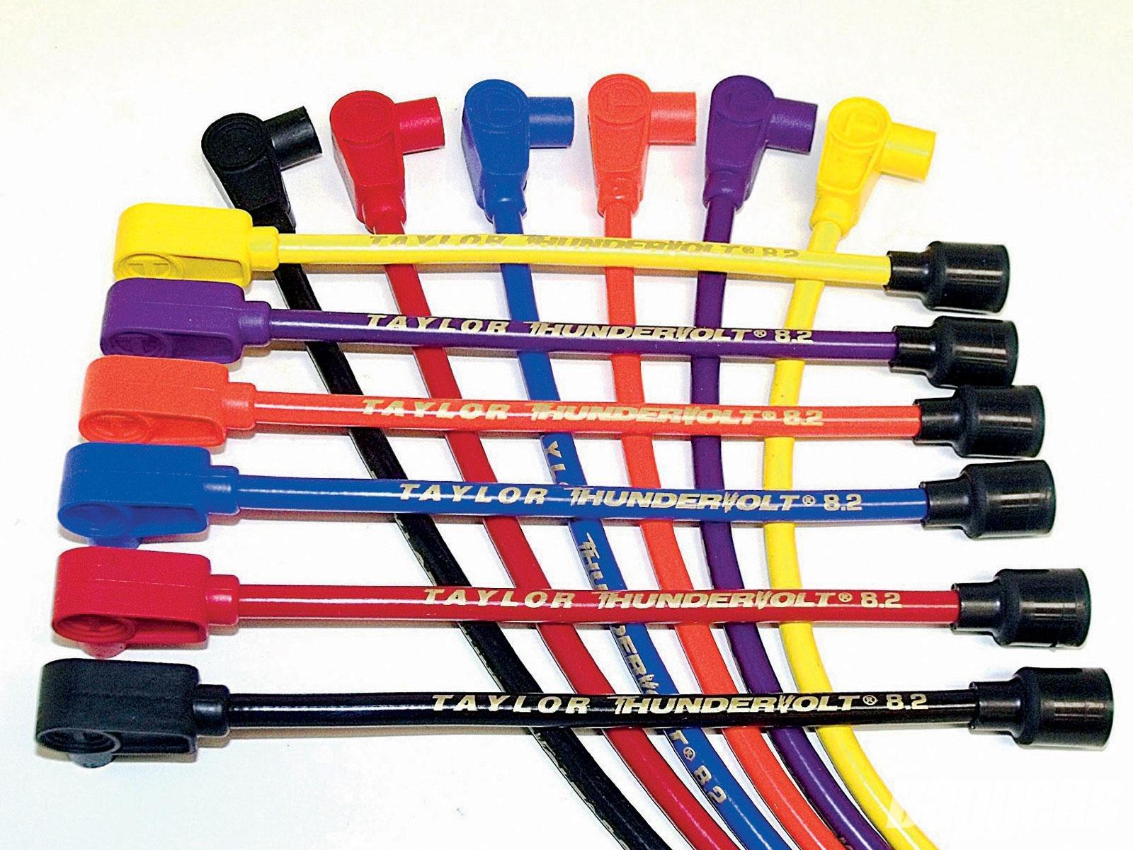 Sumax Thundervolt Black Spark Plug Wires 60036