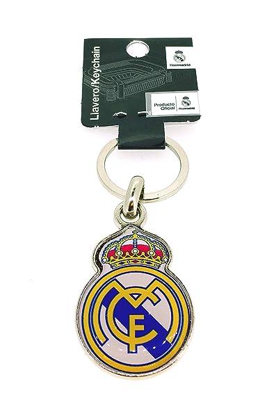 Llavero Real Madrid Club de Fútbol Producto Oficial: Amazon ...