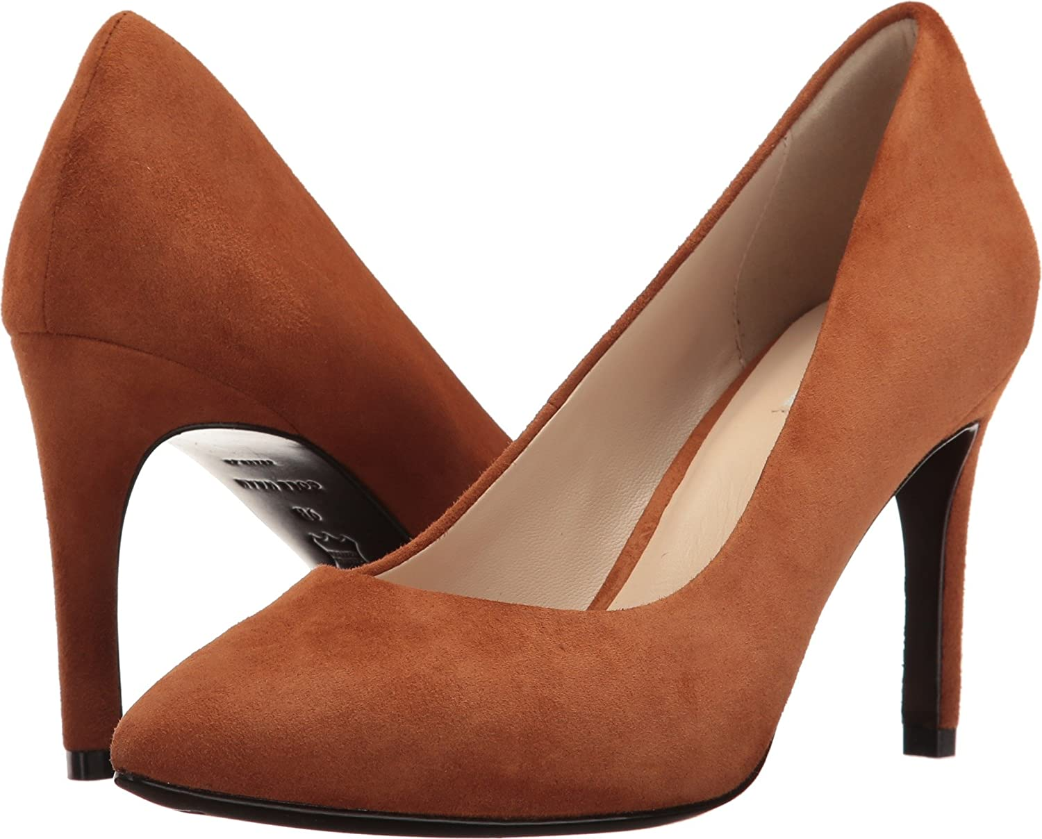 Cole Haan Womens Eliza Grand Pump 85mm B01M640M1M 10.5 B(M) US|British Tan Suede