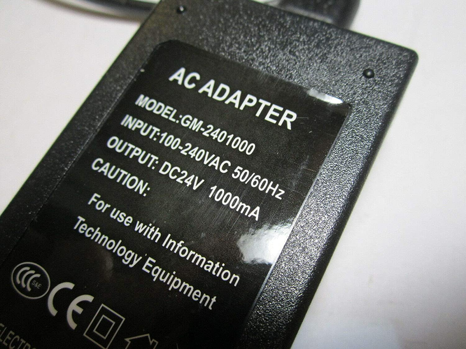 Replacement 24V 1A AC-DC Adaptor Power Supply for Brother CM900 ScanNCut
