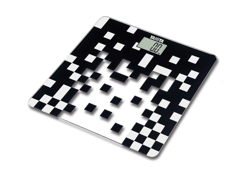 Tanita HD-380 - Báscula digital de cristal, color negro: Amazon.es: Salud y cuidado personal