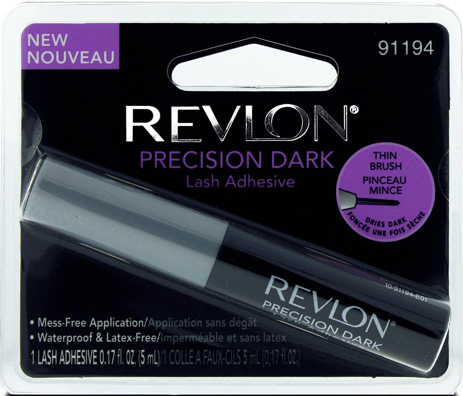 Revlon Precision Lash Adhesive Dark 5ml Pacific World Ltd 91194