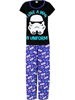 star wars womens darth vader pajamas - Star Wars Christmas Pajamas