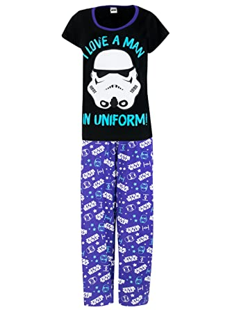 Star Wars Womens Darth Vader Pajamas S