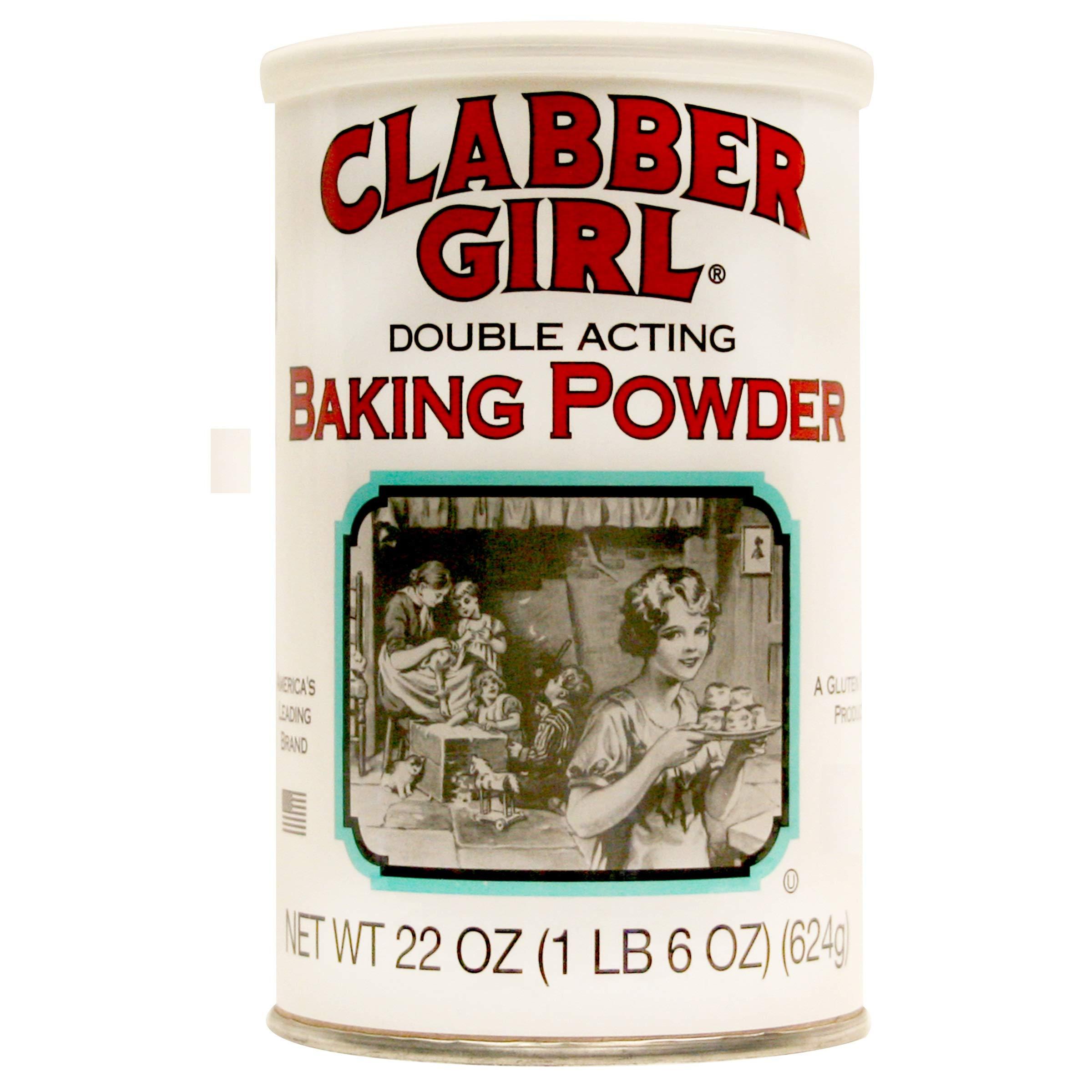 Clabber Girl Baking Powder 22 oz can (4)