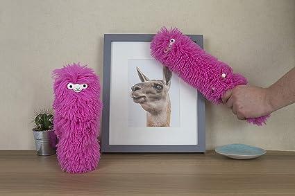 42cd3ecbce Amazon.com  Gift Republic Fuzzy Pink Llama Duster