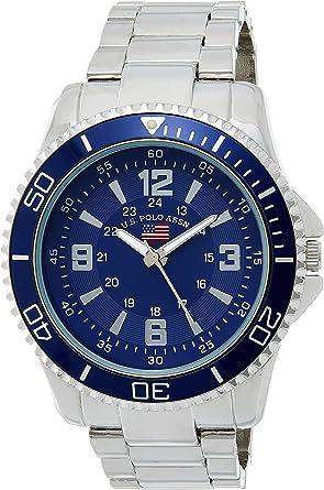 U.S.POLO ASSN. Reloj analógico para Hombre de con Correa en ...