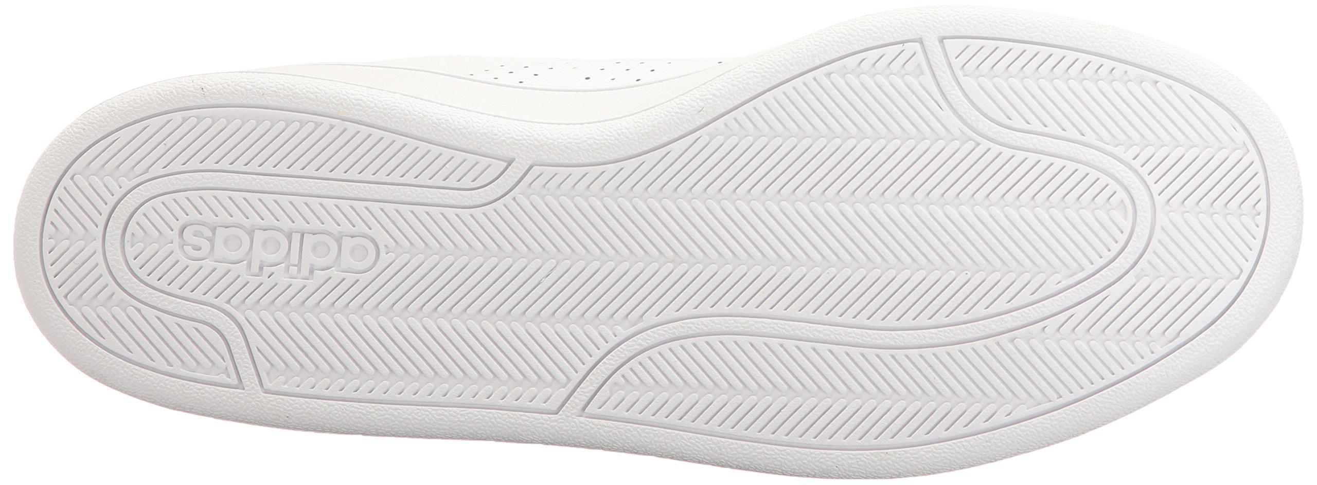 adidas Women's Shoes Cloudfoam Advantage Clean Sneakers, White/White/Black, (7.5 M US) by adidas (Image #3)
