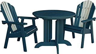 product image for Highwood AD-DNA36-ODY Hamilton Round Dining Set (3 Piece), Odyssey