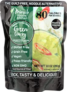 Miracle Noodle, Noodle Meal Green Curry, 10 Ounce