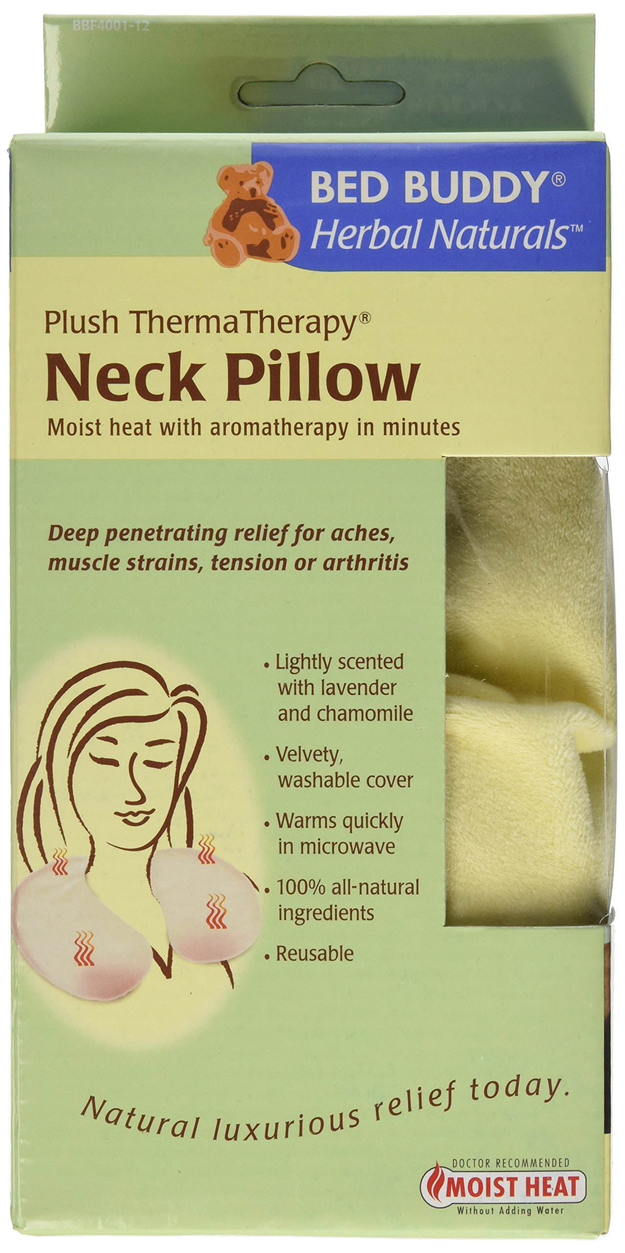 Bed Buddy Neck Pillow with Moist Heat and Aromatherapy