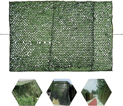Toldos Terraza Verde Woodland Malla de Camuflaje Militar Red de Sombra de Jardín Laterales Exterior Tela Velas Red de Camuflaje 8x8m 8x6m for Sombrilla Decoración Aire Libre Coche Techo Fotogra Toldo: Amazon.es: