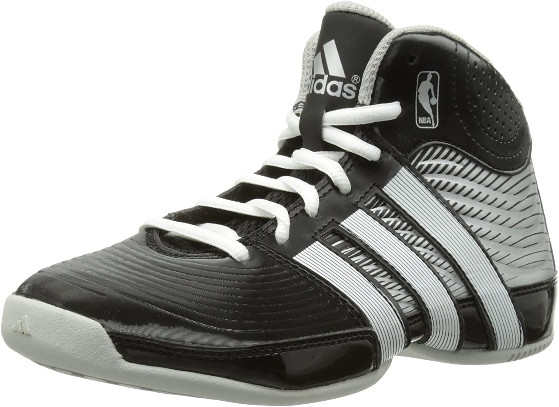 Hommes Chaussure de Basket ball Adidas Rise Up 2017 Black