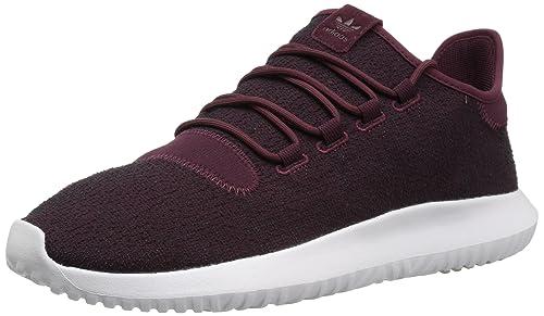 adidas Originals Men s Tubular Shadow Sneaker Running Shoe, Maroon Vapour  Grey White, 967b5f4891