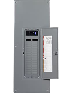 , Square D by Schneider Electric HOM2040M200PRB Homeline 200 Amp 20-Space 40-Circuit Outdoor Main Breaker Load Center Plug-on Neutral Ready