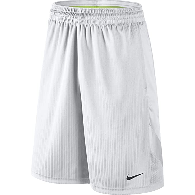 95f8e26759 NIKE Men's Layup 2 Shorts, White/White/White/Black, Small