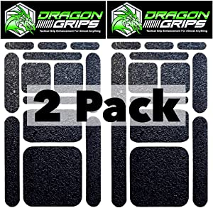 cell phone grip tape sticker set 13pc (2pack) black rubber grip tape decals provides iphone grip, phone grip case laptop tablet computer keyboard gaming controllers crafting sewing (Black 2 pack)