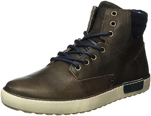 Bullboxer Sneaker high schwarz Herren Schuhe Leder Synthetik