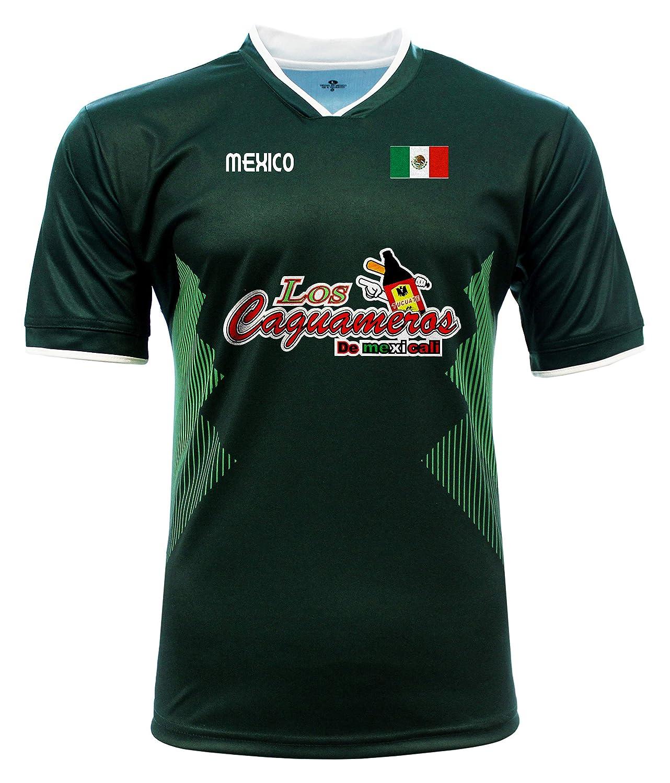Jersey Mexico Los Caguameros de Mexicali 100/% Polyester/_Made in Mexico