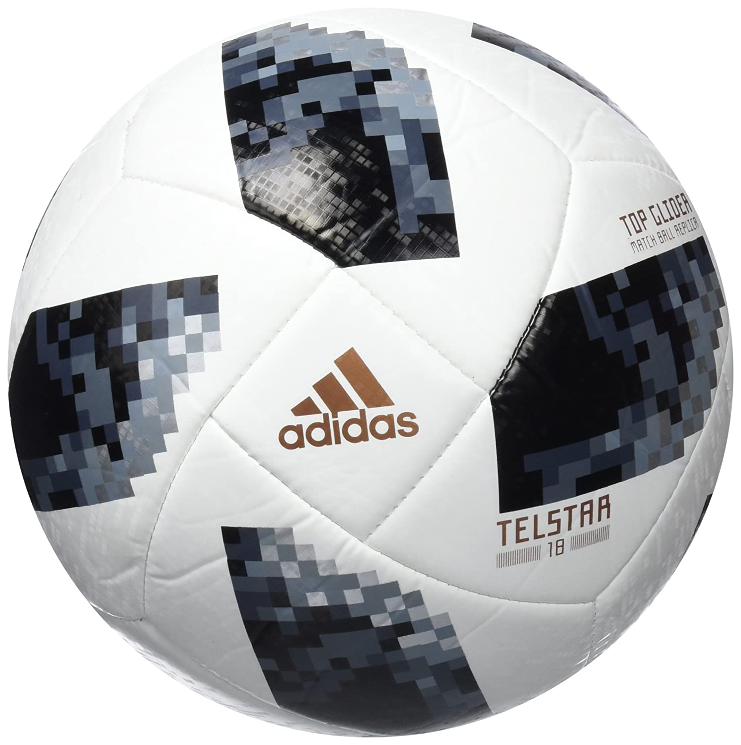 8498016b023 Amazon.com   adidas Soccer Ball World Cup Football Ekstraklasa Telstar 18  Top Glider CE7374   Sports   Outdoors