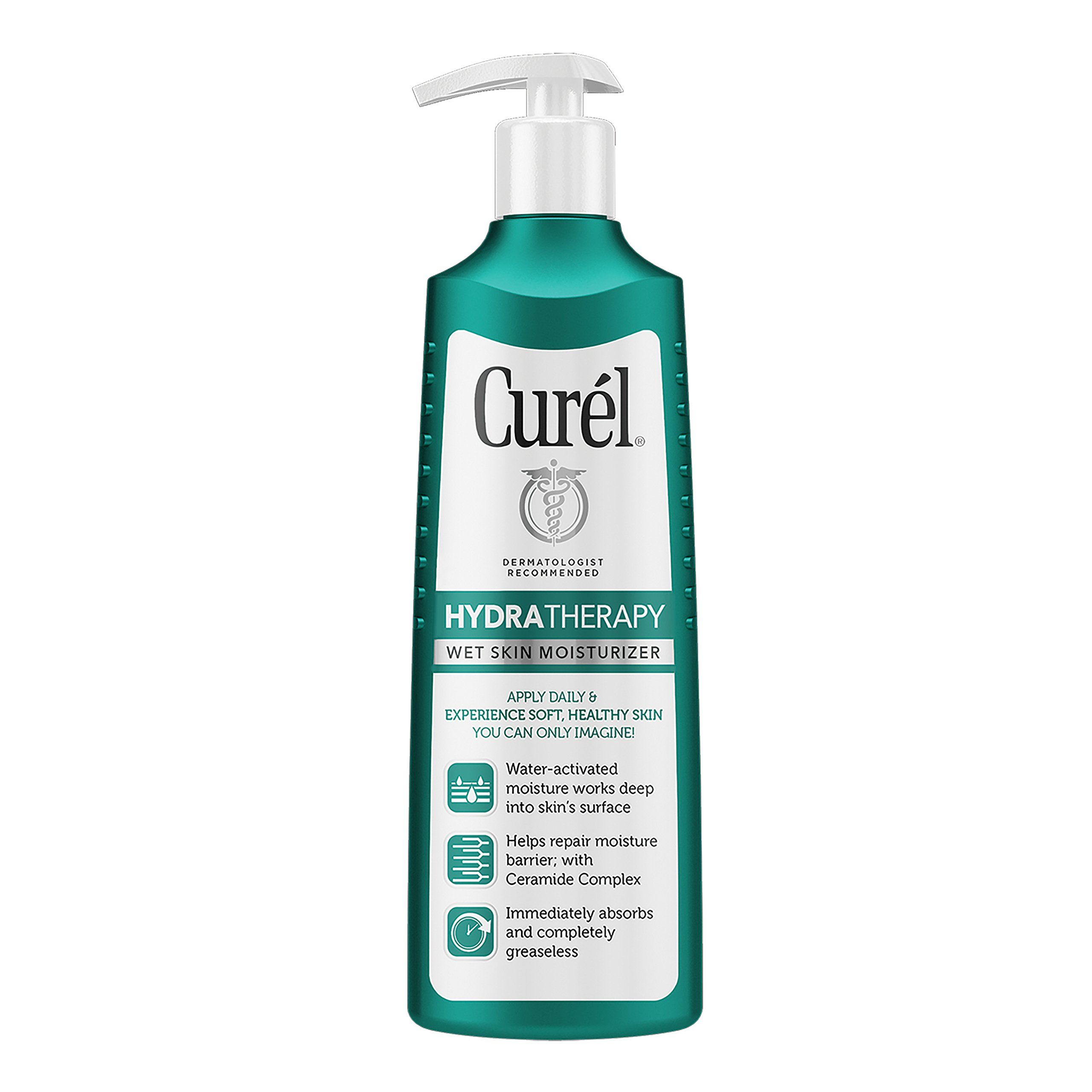 Curél Hydra Therapy Wet Skin Moisturizer for Dry & Extra-Dry Skin, 12 Ounce by Curél Skincare