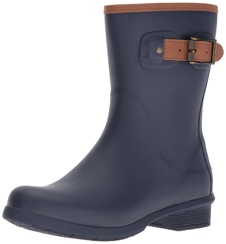 Chooka Women's Mid-Height Memory Foam Rain Boot B01N5EECAW 5 B(M) US|Navy