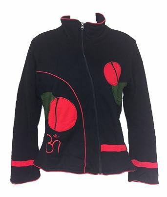 1d750e5f Yoga Jacket Om Symbol Fleece Lined at Amazon Women's Coats Shop