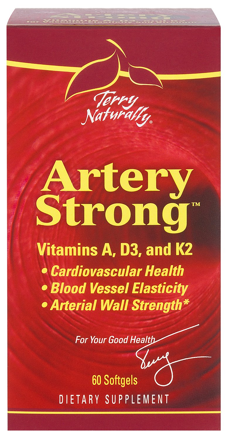 Terry Naturally Artery Strong - 60 Softgels