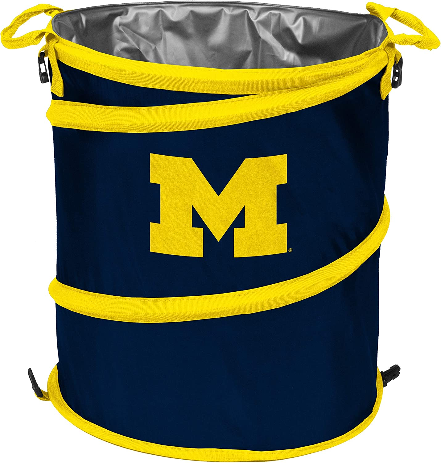 NCAA Michigan Wolverines Trash Can Cooler