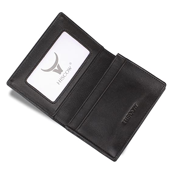 Hiscow mens business card holder with large compartment italian hiscow mens business card holder with large compartment italian calfskin colourmoves Images