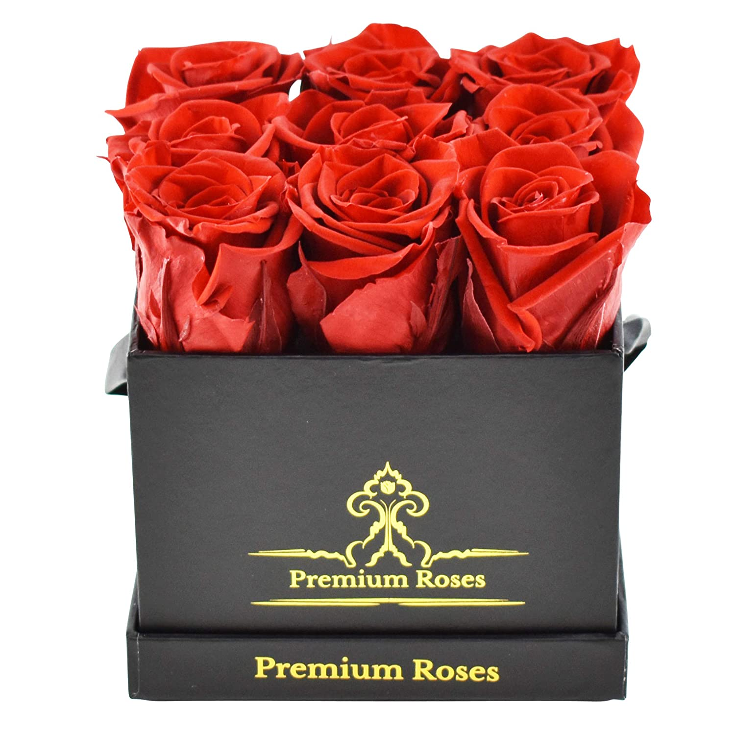 Real Roses That Last 365 Days Roses In The Box Best Gift For Her