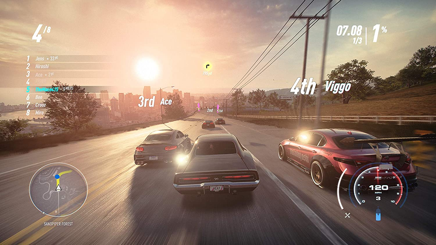Amazon com: Need for Speed Heat - PlayStation 4: Electronic