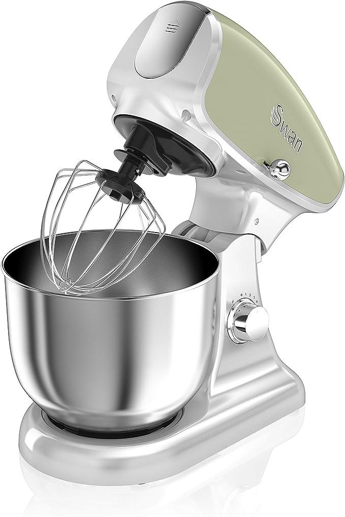 Swan Retro Batidora amasadora repostería Profesional, Robot cocina ...
