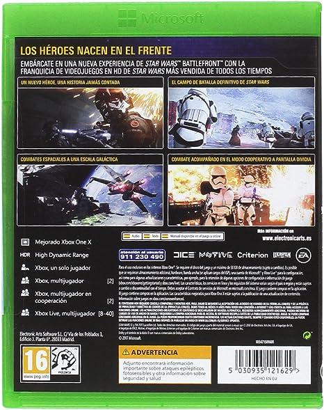 Star Wars: Battlefront II - Edición estándar: Amazon.es: Videojuegos