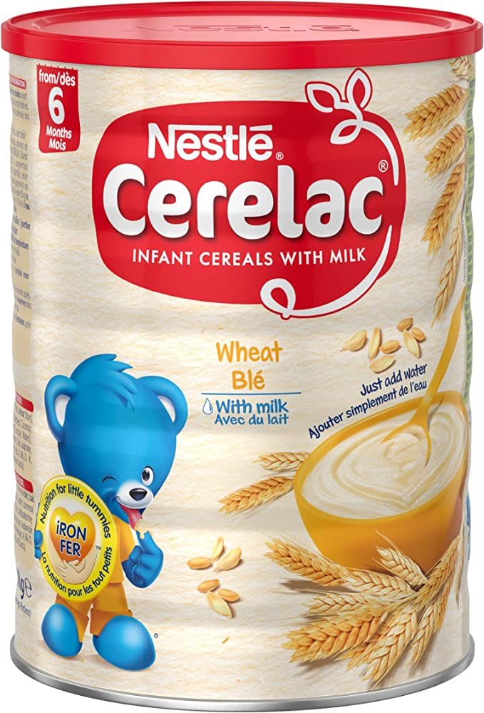 Nestlé Cerelac Wheat With Milk Infant Cereal 1kg 6 Months
