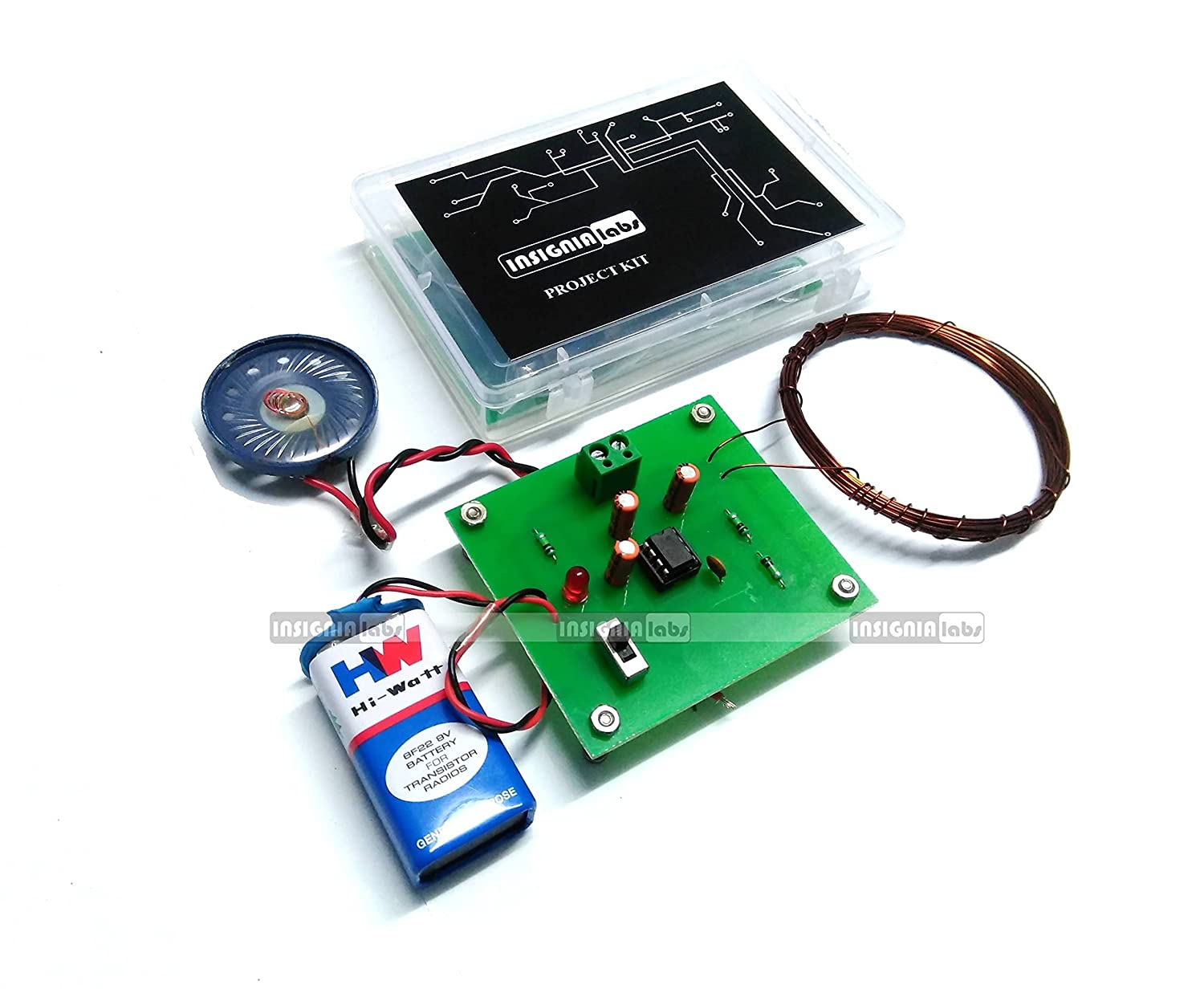 Buy Insignia Labs Metal Detector Kit Project Online At Low Prices Circuit Board Pen In India