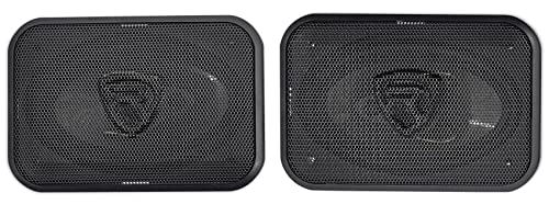 image of ROCKVILLE RV46.3A 4×6 3-WAY CAR SPEAKERS - one of the best 4x6 speakers for car