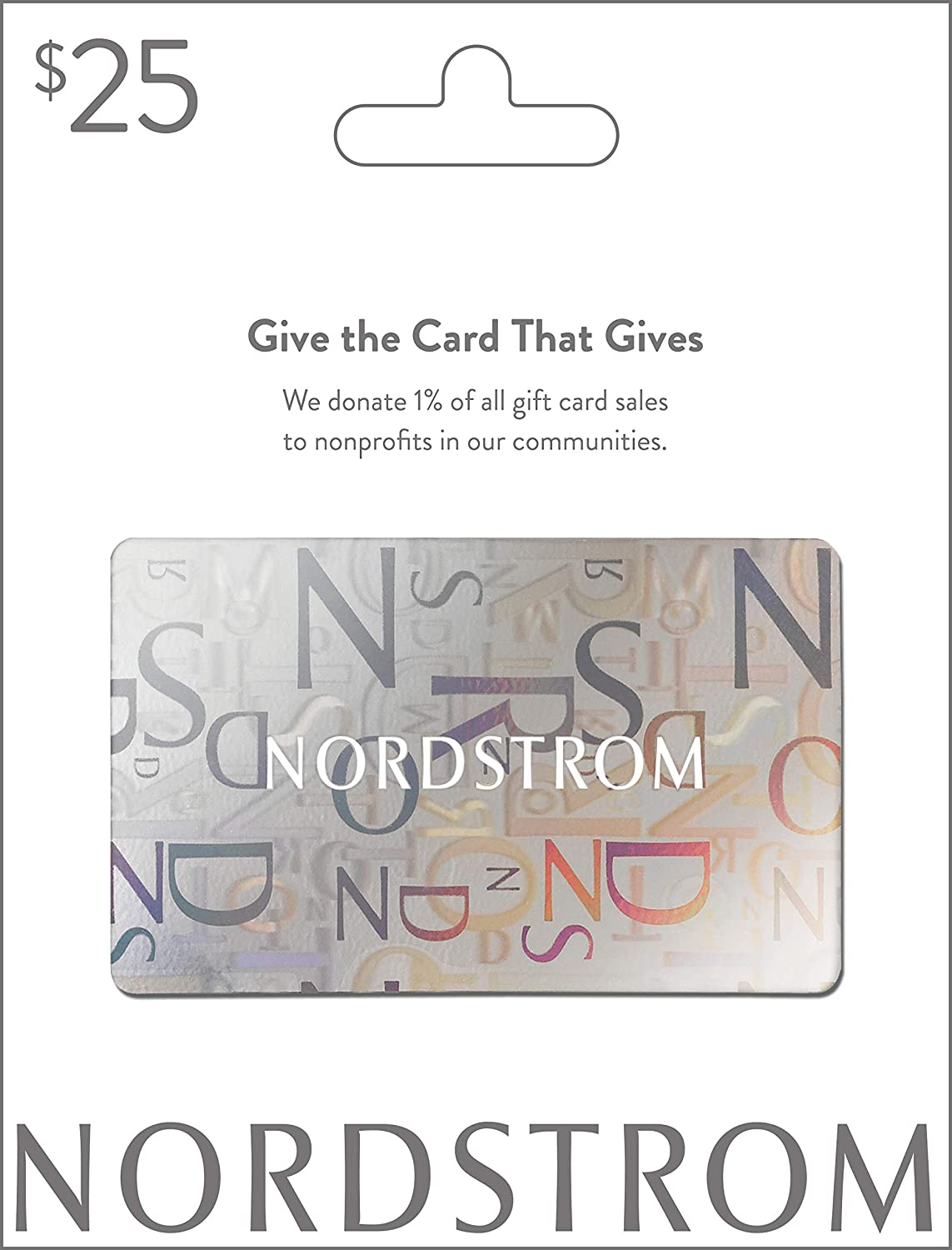 d4c56c5c4c06 Amazon.com  Nordstrom Gift Card  25  Gift Cards