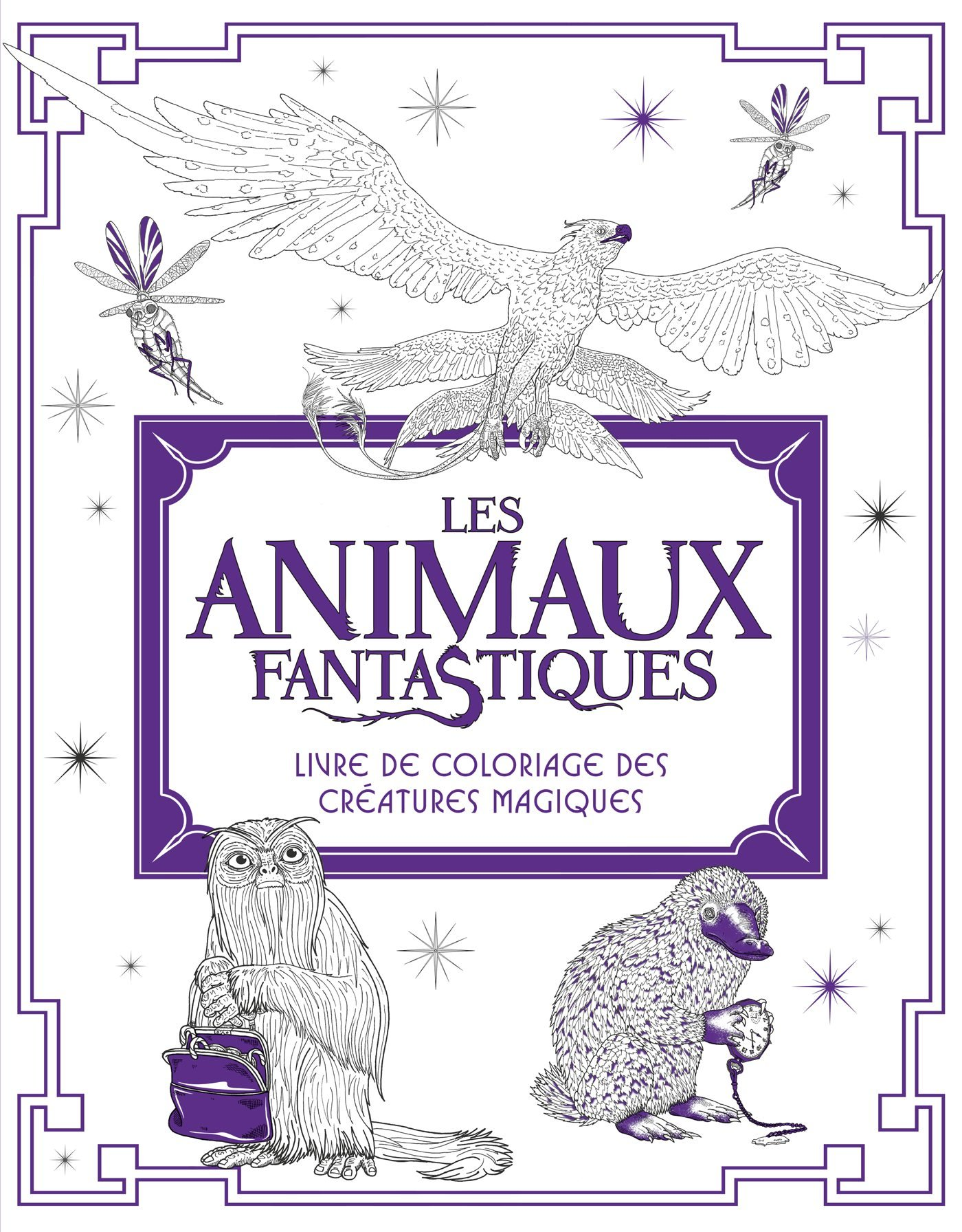 Coloriage animaux - Dessin animaux fantastiques ...