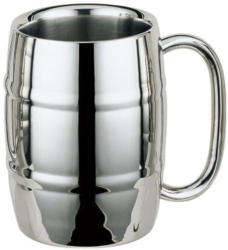 Amazon.com: Acero inoxidable taza, taza, taza de café, taza ...